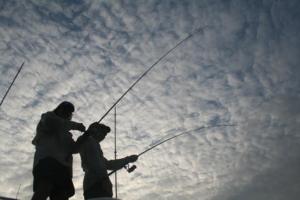 Kwanza Fishermen Silohuette